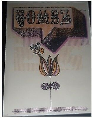GOMEZ Autographed / Signed Concert Lithograph Poster - 2006 Vic Theater Chicago!