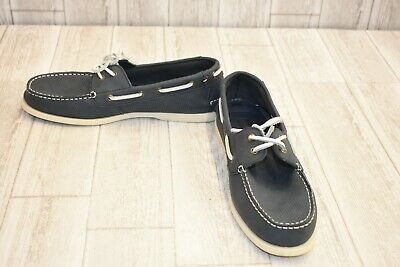 6cae7d2f2 TOMMY HILFIGER MENS Bowman Coffee Bean Boat Shoes Size 12 (196132 ...