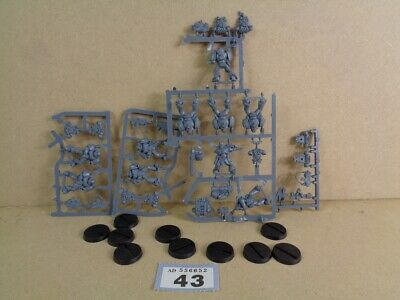 Warhammer 40,000 Space Marines Tactical Squad on sprue 43