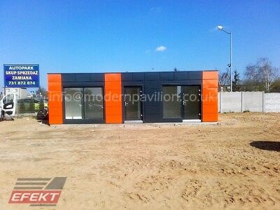 Modular Building, Cabin Bespoke Unit, Mobile Home, Office, Compact Buildings
