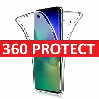 Case for Samsung Galaxy S10 S10Plus 360 Shockproof Protective Silicone TPU Cover