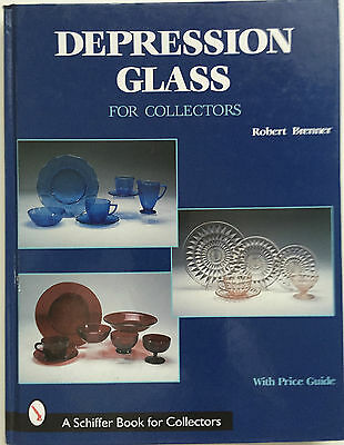 DEPRESSION GLASS FOR COLLECTORS  by Robert Brenner