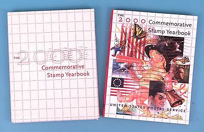 2000 COMMEMORATIVE STAMP USPS Yearbook with all mint Stamps