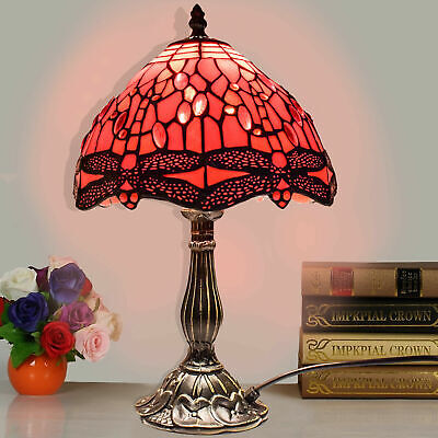 Tiffany Stunning Quality Style Hand Crafted Glass Table /Desk / Bedside Lamps
