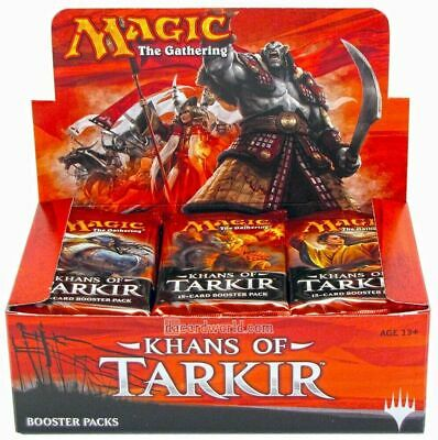Magic the Gathering (MTG) Khans of Tarkir Factory Sealed Booster Box