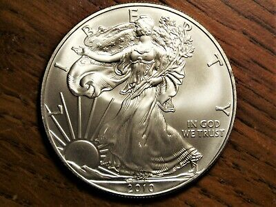 2010 American Silver Eagle - Brilliantly Uncirculated