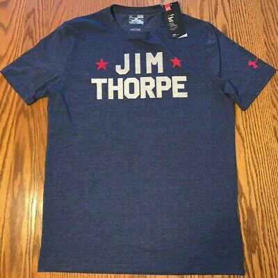 NWT Men's Under Armour Jim Thorpe The Worlds Greatest Athlete T-Shirt Size: Med