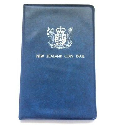 1978 New Zealand 7 Coin Uncirculated Coin Set Which Includes The Beehive Dollar