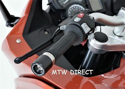 BMW F800GT 2013>  R&G Racing  Motorcycle Bar End Weights Sliders  BE0073BK