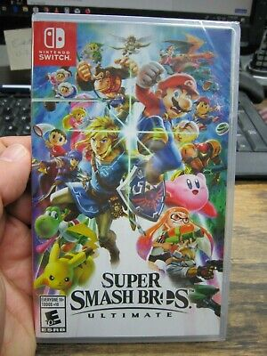 BRAND NEW!! Super Smash Bros. Ultimate (Nintendo Switch, 2018) FREE SHIPPING!!