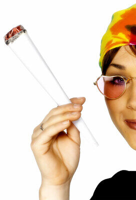 Fake Joint Spliff Stoner Fancy Dress Accessory Hippy 60/'s Weed