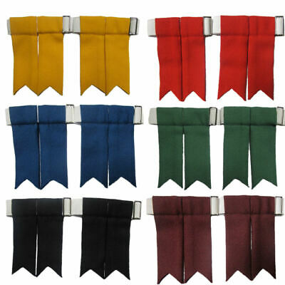 House Of Edgar Mens Plain Sock Flashes Traditional Colours