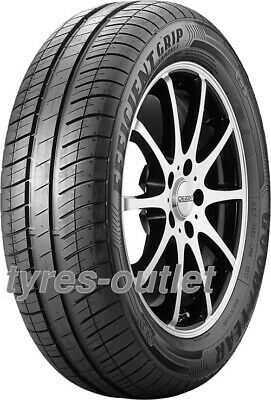 2x SUMMER TYRE Goodyear EfficientGrip Compact 175/70 R13 82T