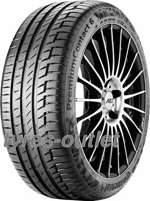 2x SUMMER TYRE Continental PremiumContact 6 235/45 R17 94Y