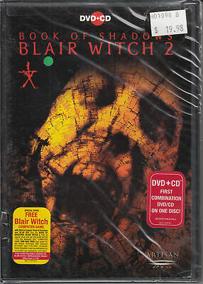 Book of Shadows: Blair Witch 2 (DVD, 2001, DVD-Video and CD Soundtrack)