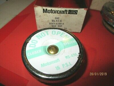 Lincoln -Ford-Tbird--1976-80-Rs47A- D5Vy8100A-Radiator  Cap  Motorcraft--16 Lbs