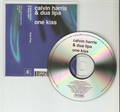 Calvin Harris Ft Dua Lipa - One Kiss - Rare Brazilian 10 Remix Cd Promo
