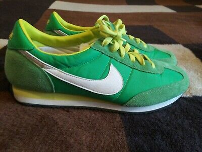 4dee514a7bb2 Vintage Retro Nike Cortez Oceania Retro Womens Running Shoes Sz 9 Lime Green