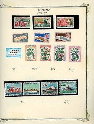 St. Pierre & Miquelon Page Lot #14 - SEE SCAN - $$$