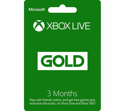 Xbox Live Gold 3 Month Membership  🔐 Lisence Key 🔐 Instant Delivery (2s) 📥