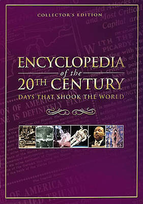 Encyclopedia of the 20th Century Days That Shook the World-5-DVD & Collector Tin