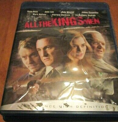 All The Kings Men Blu-ray w/JEWL case Disc like NEW Mint condition