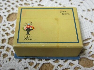 """CARA NOME"" Langlois New York Powder box (with powder) Cardbd bx LIGHT RACHELLE"