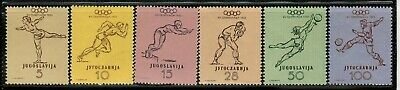 Yugoslavia General Issues #359-364 Complete Set 1952 MNH