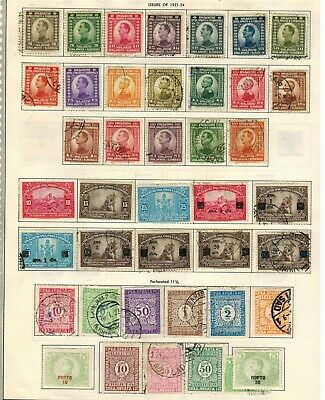 Yugoslavia General Issues from Year 1921 to 1930 Stamps Used/MH