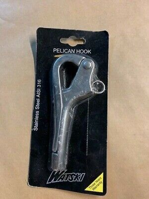 Pelican Hook. Quick release. Stainless Steel. Shackle Sailing Boat Yacht