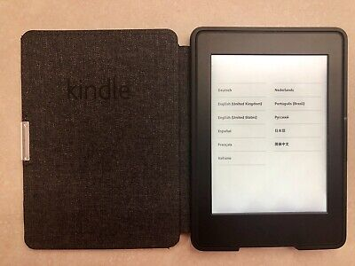 Kindle Paperwhite (7th Generation) 4GB, Wi-Fi, 6in - Black With Extras