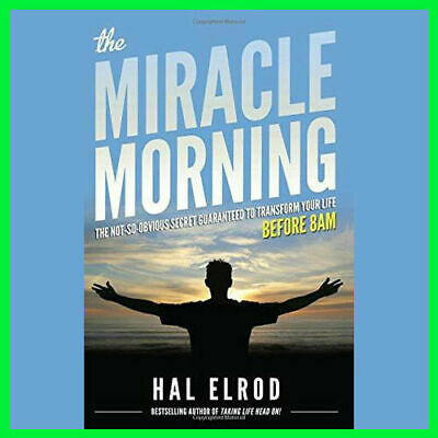 The Miracle Morning by Hal Elrod (E-BooK){PDF}⚡Fast Delivery