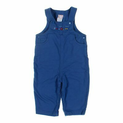 Gymboree Baby Boys  Overalls, size 6 mo,  blue/navy,  cotton