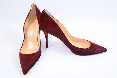 the latest 6cedb 0af49 CHRISTIAN LOUBOUTIN APOSTROPHY orthodoxe red 10 40 point toe pump shoe NEW  $675