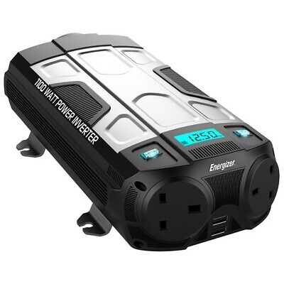 Power Inverter 12V to 230V 1100W Energizer 50612