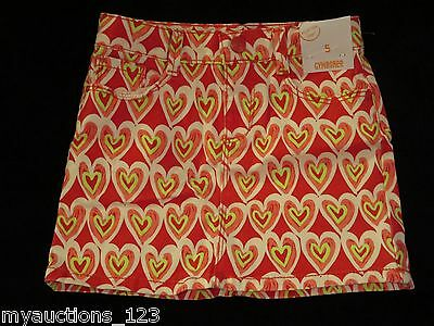 GYMBOREE Play By Heart Leggings Heart W//In Heart White Pink Yellow 4 5 6 710 NEW