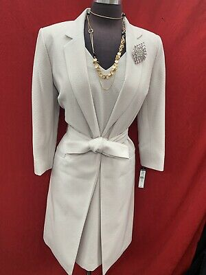 John Meyer  Dress Suit/new With Tag/retail$280/lined/size 16/taupe/length 40""