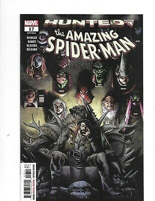 The Amazing SPIDER-MAN HUNTED Part 1 #17 Humberto Ramos Cover 2019 Marvel Comics