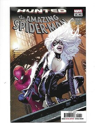 The Amazing SPIDER-MAN HUNTED #16.HU GREG LAND COVER JAN 2019 Marvel Comics