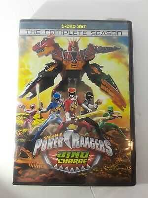 Power Rangers Dino Charge: The Complete Season (DVD,2017)