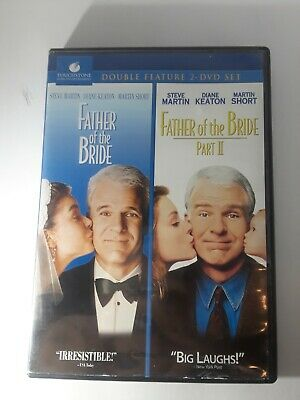 Father of the Bride/ Father of the Bride Part II (DVD, 2010, 2-Disc Set)