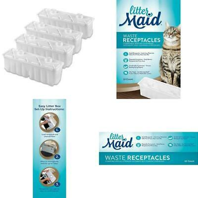 Littermaid Waste Receptacles, 12 Pack