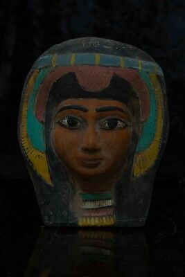 Ancient Egyptian Antiques Egypt Statue Hatshepsut Mask Pharaoh Stone, 1473 BCE