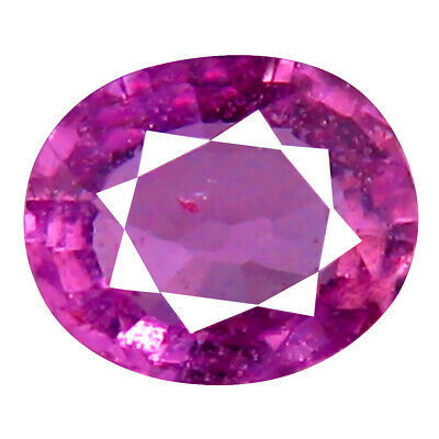 0.40 ct FIVE-STAR OVAL CUT (5 X 4 MM) UNHEATED / UNTREATED PINK SAPPHIRE