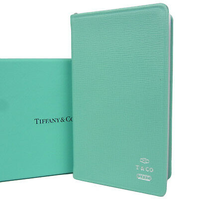 Sale! Tiffany & Co. Logos Leather 2018 Daily Planner Address Book F/S 797