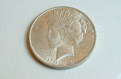 1923 Liberty Peace 90% Pure Silver Dollar Excellent Condition
