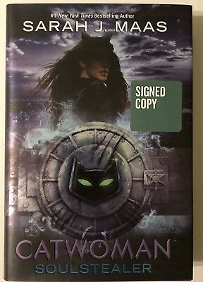 Sarah J. Maas Catwoman Soulstealer Signed Book First Edition Hardcover