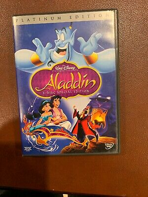 Disney Aladdin (DVD, 2004, 2-Disc Set, Special Platinum Edition)