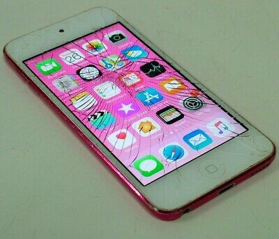 Apple iPod touch 6th Generation Pink 32GB MP3 Player MKHQ2ZP/A - A1574 - From $1