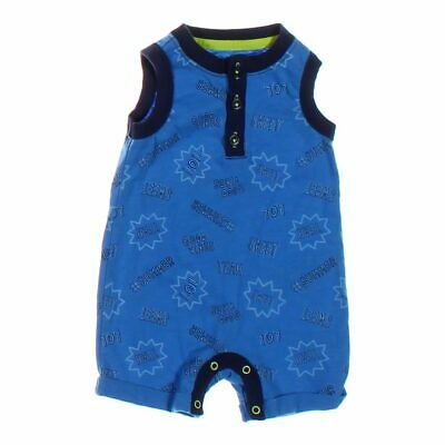 345827989bb5 CAT   JACK Baby Boys  Bear Hooded Long Sleeve Blue Romper -  9.99 ...